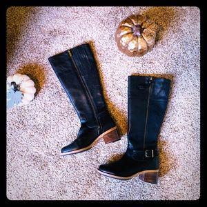 Clark's- Clarkdale Sona Boot Size 6 1/2 black